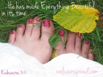 August Feet
