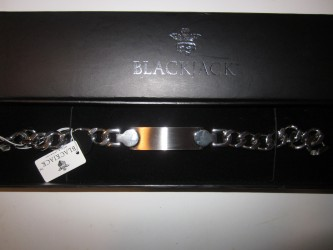 Blackjack Men's ID Bracelet