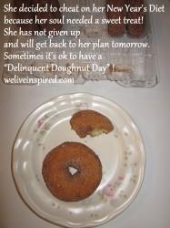 Delinquent Doughnut Day
