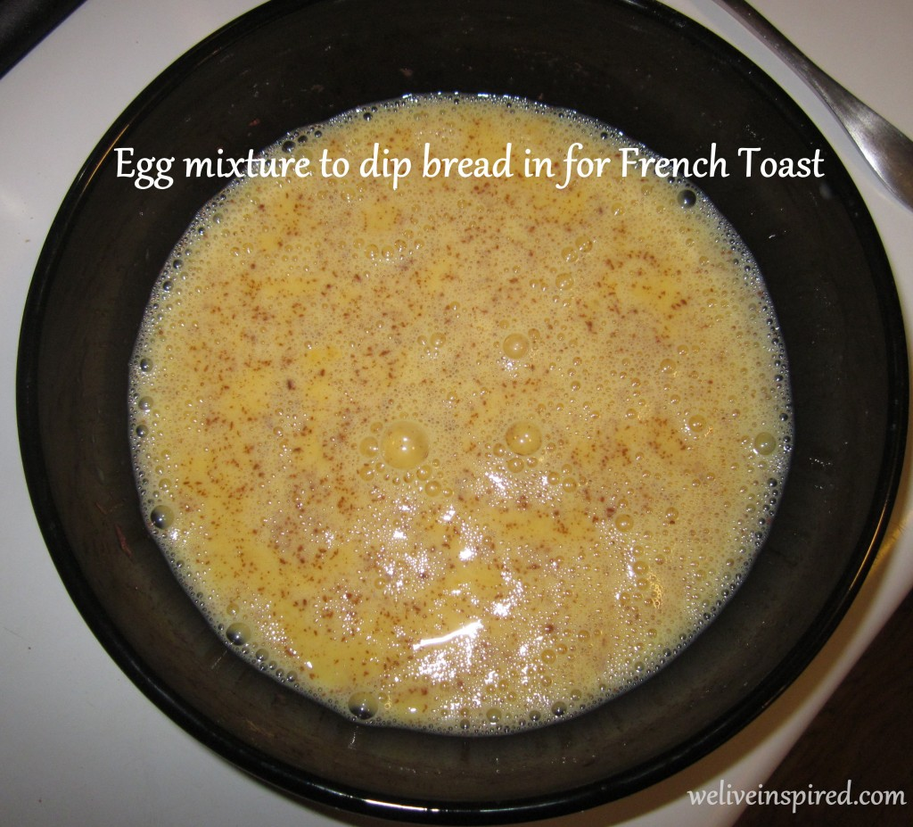 French Toast Egg Mixture