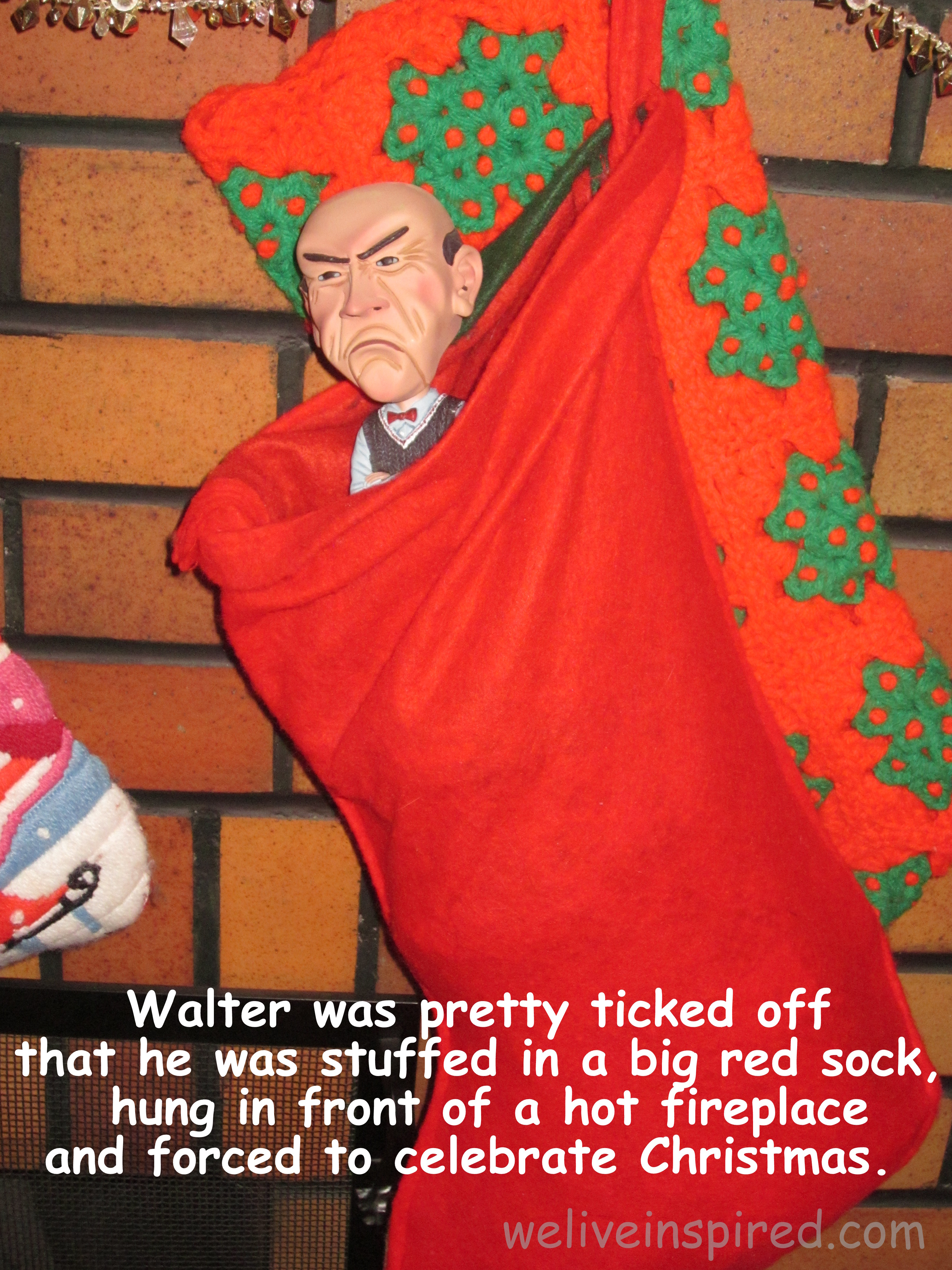 Jeff Dunham\'s Walter Celebrates Christmas - We Live Inspired!