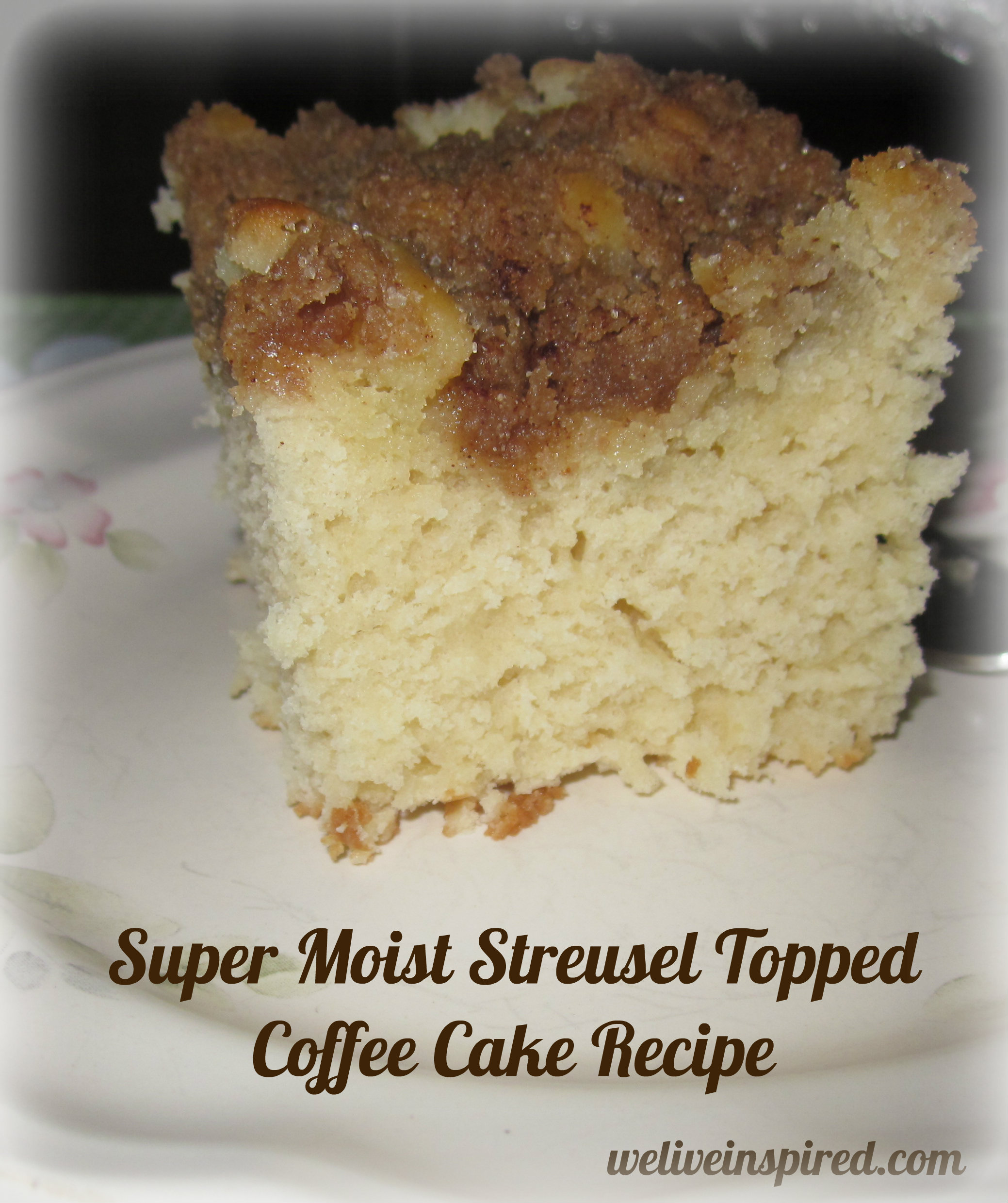 Easy Streusel Topped Coffee Cake