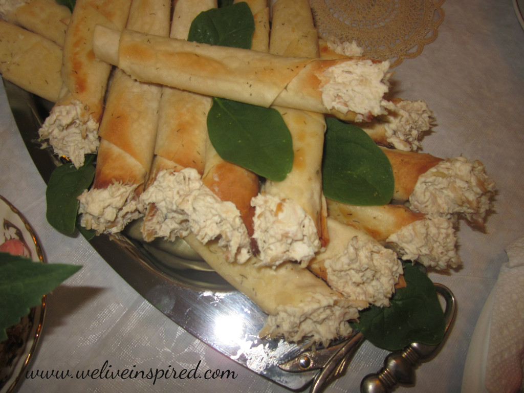 Tea Sandwiches Chicken Salad