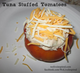 Tuna Stuffed Tomatoes