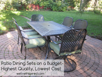 Attractive ... Fall River 7 Piece Patio Dining Set. Tip Of The Week Where To Buy Low  Cost Quality Patio Furniture And Dining Sets