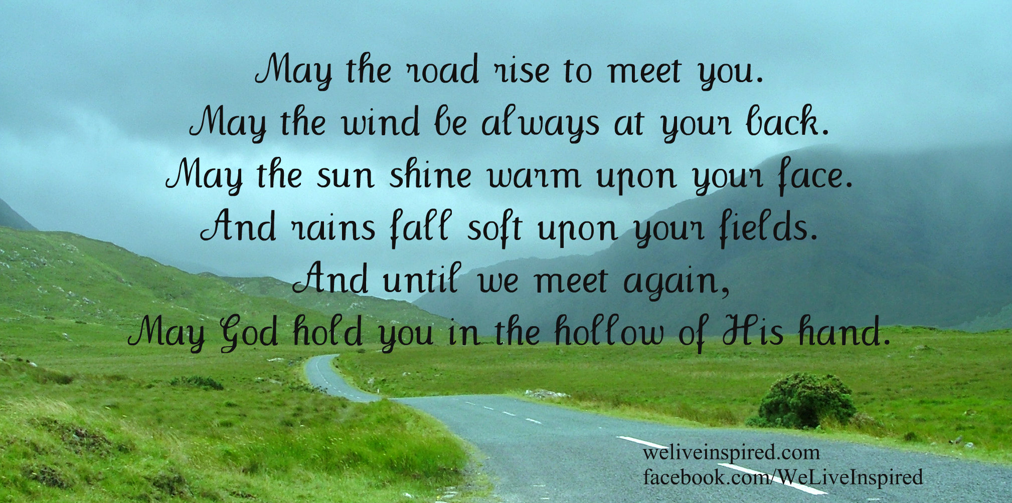 may the road rise to meet you definition